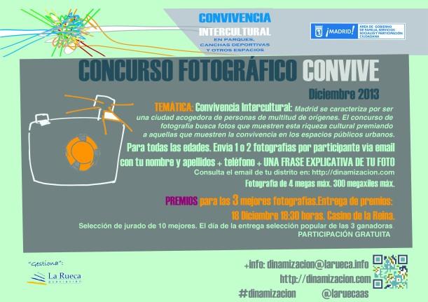 CONCURSO FOTOGRÁFICO CONVIVE